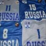 Спортивная одежда нанесение номеров и логотипов клуба